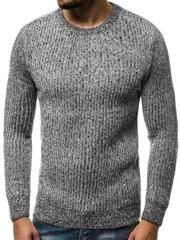 OZONEE HR1818H Férfi pulóver Szürke | OZONEE.HU