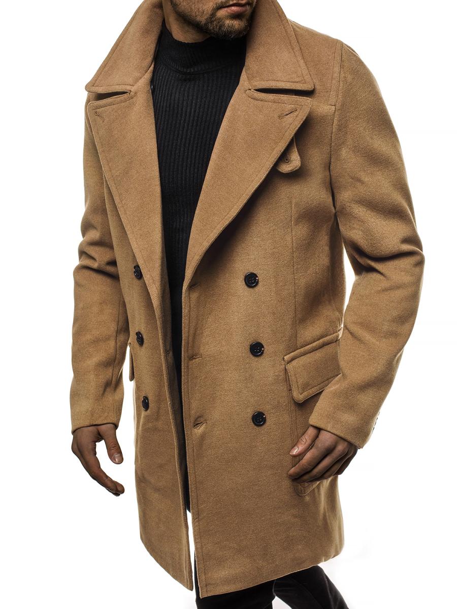 1048 Férfi kabát Bézs OZONEE JB1048Z | OZONEE.HU