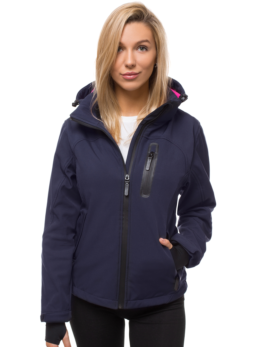 Női kabát dzseki SOFTSHELL Sárga OZONEE N4849 | OZONEE.HU