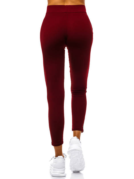 Női leggings Bordó OZONEE JS/1036/B6