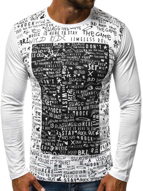 Férfi feliratos hosszú ujjú pólók - Ozonee.hu f107d57ca6